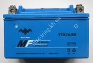 Аккумулятор YTX7A-BS SKYBAT 12 v 7.0ah сухозаряжен.с оксидом