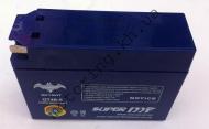Аккумулятор SKYBAT 12v 2.3ah таблетка узкая гелевая.