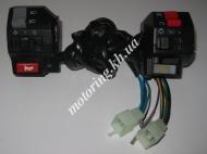 Блок кнопок управления левый  правый Zongshen ZS200GS