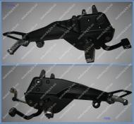 Передняя и задняя подножка в сборе пара SkyMoto BIRD