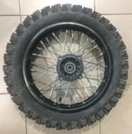 Колесо заднее  в сборе 3,00-12 Pitbike 125-150cc.