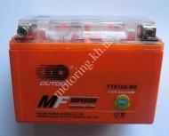 Аккумулятор YTX12A-BS(Gel)OUTDO 12 v 9,5ah гелев.оранжев.