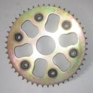 Звезда  задняя для кроссовых мотоциклов 200-250 куб. см.
