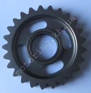 Шестерня вторичного вала CB200 (65mm, 25 зубов)