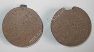 Колодки передние диск. тормоз  ZONGSHEN ZS200GY-2 (MOD)