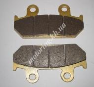 Колодки тормозные (диск) Honda CBR250F/500F (желтые)