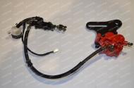 Гидравлика заднего тормоза в сборе VIPER V250-R1/V250R-1(NK)