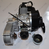 Двигатель Pocket Bike, ATV 2T 65СС+редуктор (POC-010)