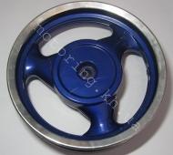 Диск 2,50*12 задний алюминиевый под барабан 130мм (125-150сс)