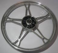 Диск DeltaAlpha задний  алюминиевый дешевый 9252 (белый)