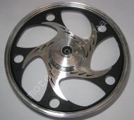 Диск DeltaAlpha передний алюминиевый резаный усиленный круг 9211