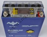 Аккумулятор SKYBAT 12v 5.0ah   гелевый  с ж/к дисплеем.