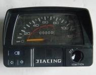 Спидометр в сборе квадратный JH 70 Delta с индикатором включенно