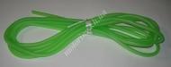 Шланг топливный  силиконовый зеленый (бухта 4 метра)
