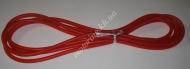 Шланг топливный  силиконовый красный (бухта 4 метра)