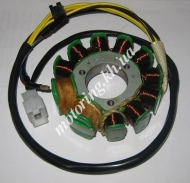 Генератор (статор) 4T CB/CG 125/150 (9+2 катушек) JIANXING