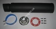 Глушитель (тюнинг)   420*100mm, креп. 78mm   (нержавейка,  черны