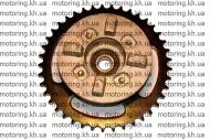 Демпфер заднего колеса+звезда Delta Alpha Active (MOD original)