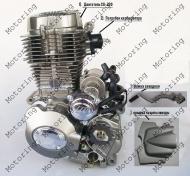 Двигатель CG-200 FML 163 мотоцикл