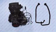 Двигатель CG250 (167 FMM) VENTUS VS150-9 + 2 колена глушителя