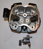 Головка цилиндра 4T CG250 Q70 водяное охлаждение с ребрами, Черн